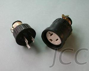 接地电缆中间插组(U-grounding Drop-proof Cable Termin: Male + Female)